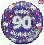 90th birthday balloon