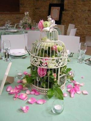 Petal birdcage