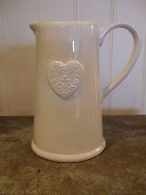 heart jug