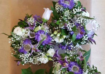 Purple Bridal Bouquets 2