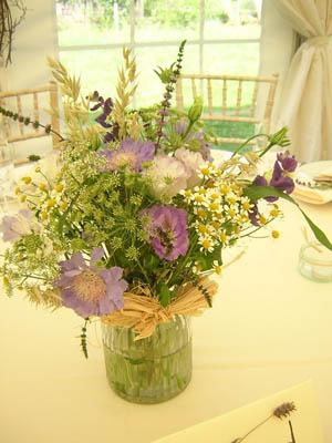 Wild flower table