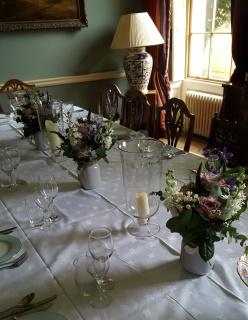 rockley manor vase arrangements